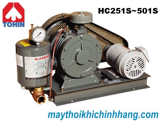 Máy thổi khí TOHIN HC40S 0.75Kw - Japan